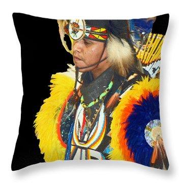Brave 3 Throw Pillow
