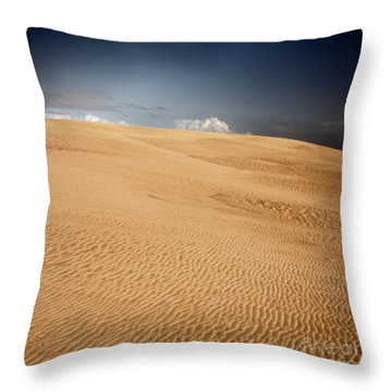 Throw Pillow featuring the photograph Brave New World by Dana DiPasquale