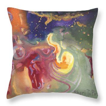 Brave The Unknown Throw Pillow