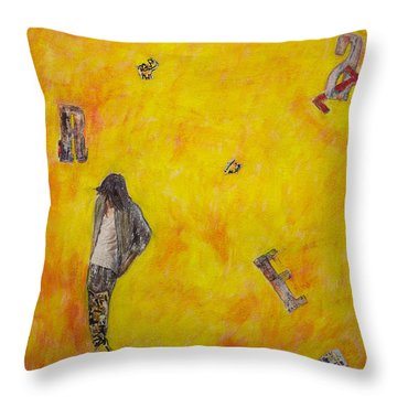 Brazen Throw Pillow
