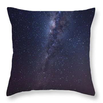 Throw Pillow featuring the photograph Brazil By Starlight by Alex Lapidus