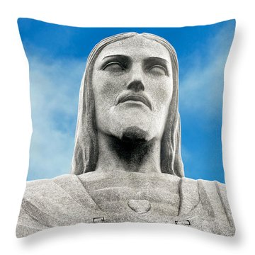 Brazilian Christ Throw Pillow