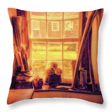 Bread In The Window Throw Pillow