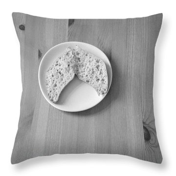 Bread Wings Throw Pillow