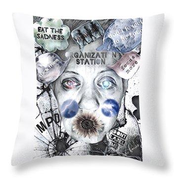 Break Free Throw Pillow by Vennie Kocsis
