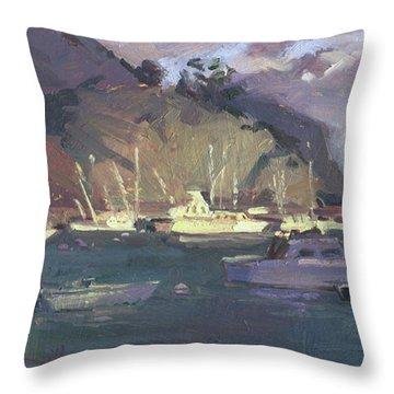 Break Of Dawn-avalon Throw Pillow