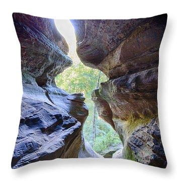 Break Out Throw Pillow