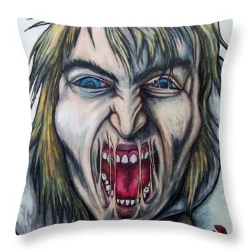 Break The Silence Throw Pillow