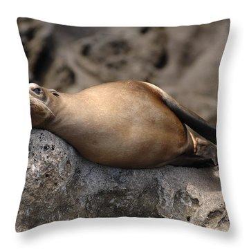 Break Time Throw Pillow