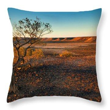 Breakaway Dawn Throw Pillow by Mike  Dawson