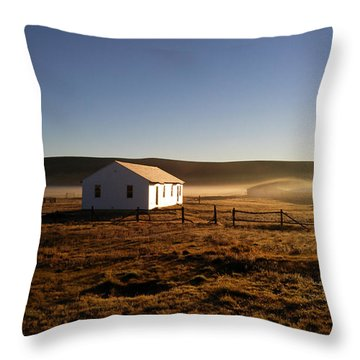 Throw Pillow featuring the photograph Breakfast In The Air by Carl Young