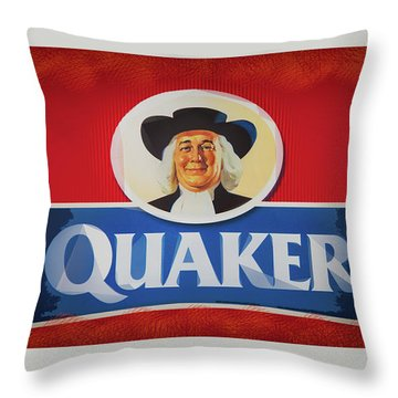 Breakfast Throw Pillow