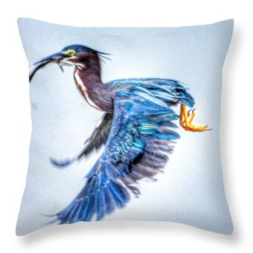 Breakfast Throw Pillow by Sumoflam Photography