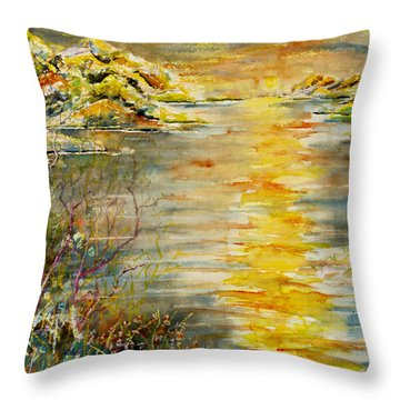 New Horizons Throw Pillow
