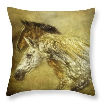 Breaking For Freedom Throw Pillow