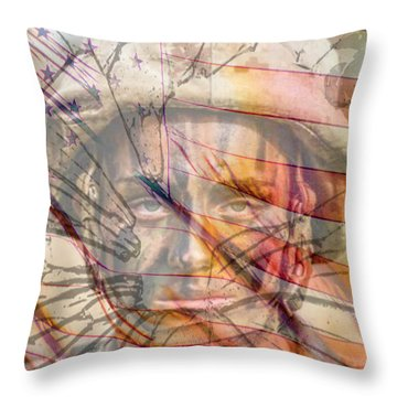 Breaking The Glass Ceiling Throw Pillow