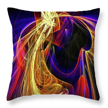 Breaking The Heart Barrier Throw Pillow by Michael Durst