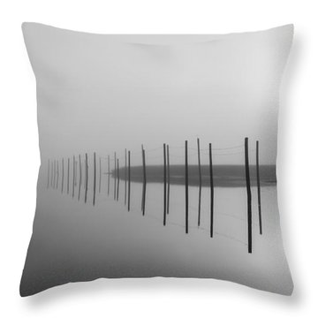 Breaking Through The Fog Throw Pillow