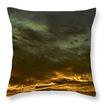 Breakthough Throw Pillow
