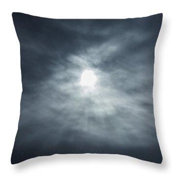 Breakthrough Sky Throw Pillow