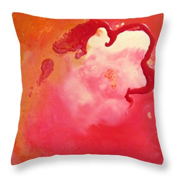 Breakthrouogh Throw Pillow