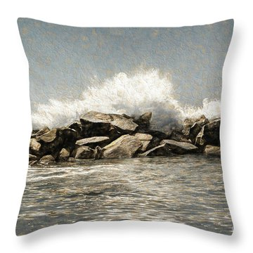 Breakwater 2 Throw Pillow