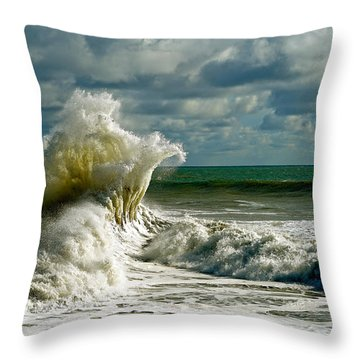 Breakwater Backwash Throw Pillow