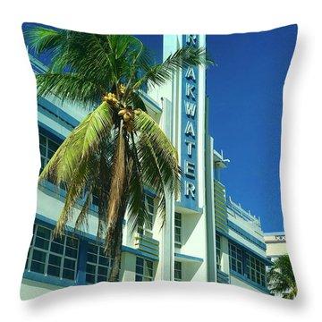 Breakwater Miami Beach Throw Pillow