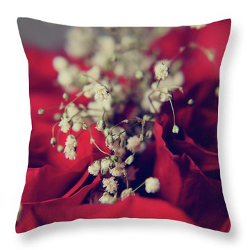 Throw Pillow featuring the photograph Breath by Laurie Search