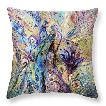 Breath Of Breeze Throw Pillow by Elena Kotliarker