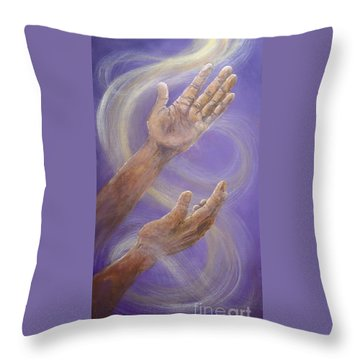 Breath Of Heaven Throw Pillow