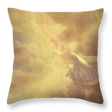 Breath Of Life Throw Pillow