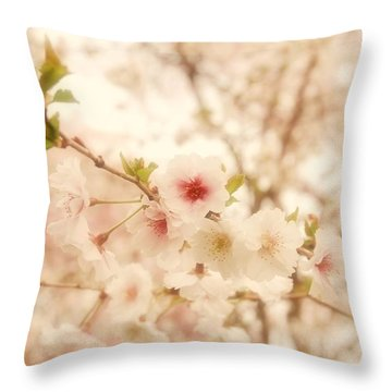 Breathe - Holmdel Park Throw Pillow by Angie Tirado