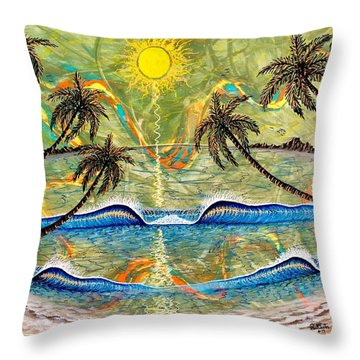 Breathe In Clarity  Throw Pillow