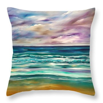 Breathe In Throw Pillow