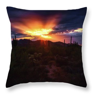 Throw Pillow featuring the photograph Breathe by Rick Furmanek