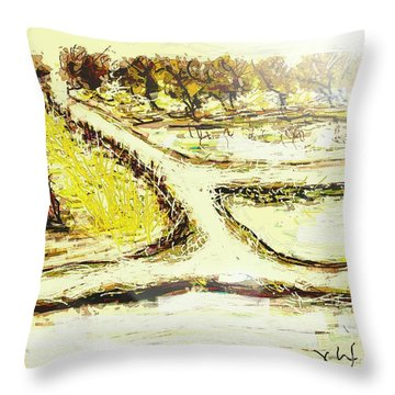 Breathing Zone3 Throw Pillow