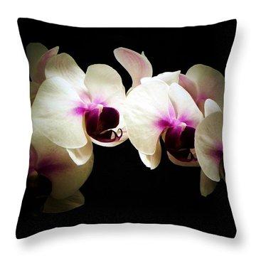 Breathless Beauty Throw Pillow