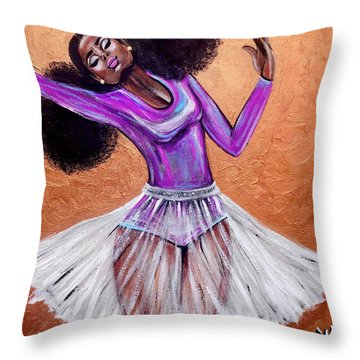 Breathtaking Moments Throw Pillow