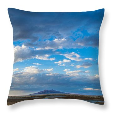 Breathtaking Nature Throw Pillow