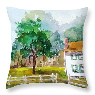 Brecknock Park Throw Pillow