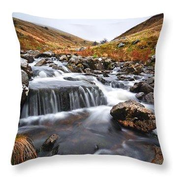 Brecon Beacons National Park 2 Throw Pillow
