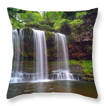 Brecon Beacons National Park 4 Throw Pillow