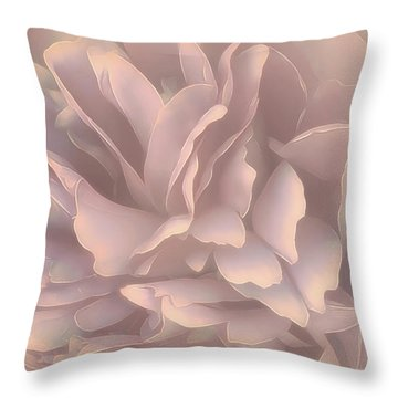 Throw Pillow featuring the photograph Breeze In Pastel Pearl by Darlene Kwiatkowski