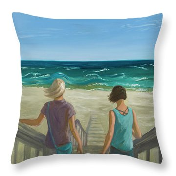 Breeze Throw Pillow