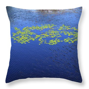 Breeze On The Water  Throw Pillow