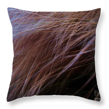 Throw Pillow featuring the photograph Breeze by Vanessa Palomino