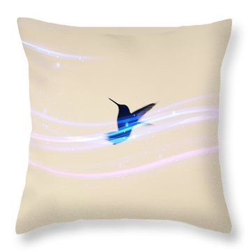 Breeze Wings Throw Pillow