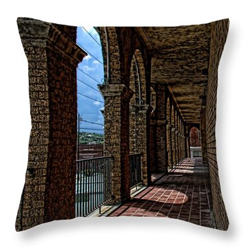 Breezway On The Baker Throw Pillow