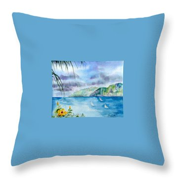 Breezy Afternoon Throw Pillow